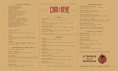 45 Remarkable Food & Drink Menu Designs | Bashooka | Cool Graphic & Web Design Blog