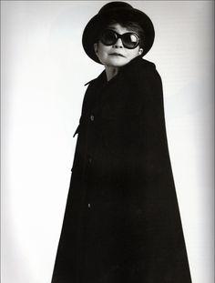 Yoko Ono in 'Audrey' @Oliver Goldsmith & Claire Goldsmith Eyewear #sunglasses. #mido