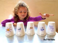 Food Chain Stacking Cups - Mud Hut Mama