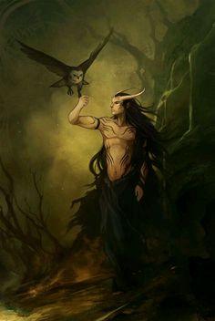 Lúcifer e a coruja de Lilith