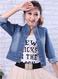 Shop Soft Slim Denim Jacket on sale at Tidestore with trendy design and good price. Come and find more fashion Denim Jackets here. Jackets For Women, Cheap Jackets, Ladies Jackets, Denim Jacket Fashion, Jackets Online, Cheap Dresses, Fashion Dresses, Slim, Lady
