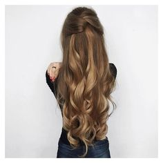 """Luxy Hair on Instagram: """"Girlssss this hair is a dream ?? Perfect for... ❤ liked on Polyvore featuring beauty products, haircare, hair styling tools, curl and wave"""
