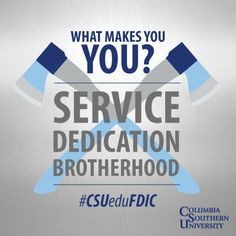 #FDIC2014 kicks off today! We are excited about meeting so many dedicated heroes. Today is also #NameYourselfDay. Pick a name which adds a sense of bravado and courage to your life and use the day as a great excuse to give something else a new try. What makes YOU?  #CSUeduFDIC