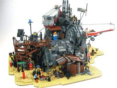Some kind of post-apocalyptic Lego scene thingy...