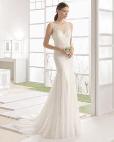    WIZAN    Rosa Clara    Emma and Grace Bridal    Denver Colorado Bridal Shop    #RosaClara #weddingdress #bride emmaandgracebridal.com