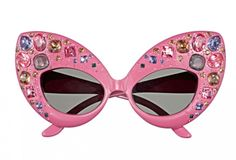 Bejeweled #sunglasses - inspirational. [sorry I've not checked if these are DIY or not ;) Mo]