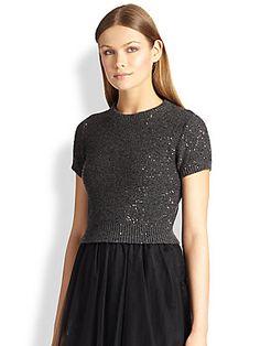 Brunello Cucinelli Cashmere  Silk Tulle Gown 4745$