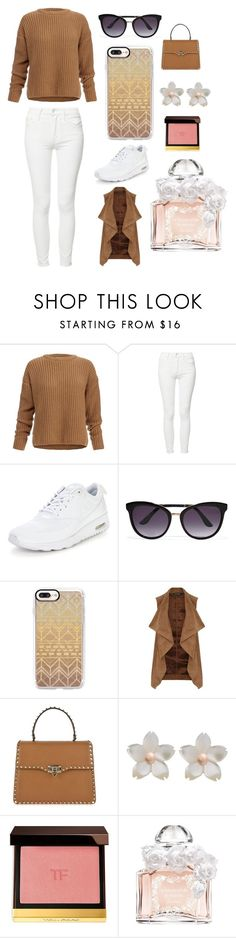 """""""Sans titre #4357"""" by merveille67120 ❤ liked on Polyvore featuring Dagmar, Mother, NIKE, Tom Ford, Casetify, Dorothy Perkins, Valentino and Guerlain"""
