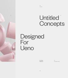 Ueno Concepts. on Behance