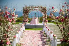 Awe Inspiring Wedding Ceremony Backdrops, Arches and Arbors