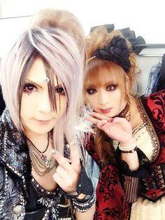 TERU and HIZAKI (Jupiter)