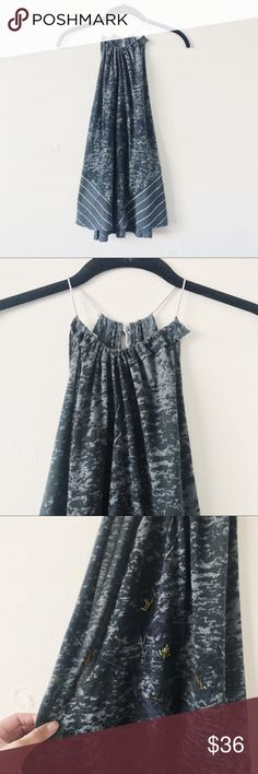 Free People Boho Green Embellished Tank • brand: free people  • condition: worn once, like new  • size: medium  • description: green knit top with beaded embellishments  bundle to save 💵! no trades/holds/try-ons. will try to answer all questions asap. no price negotiations in comments.  ✨happy shopping!✨ Free People Tops Tank Tops
