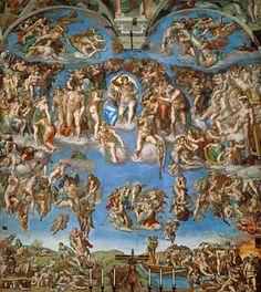 el juicio final pinturas de arte