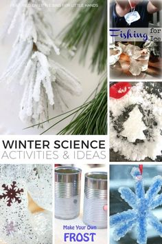 f667d5c7a8b21 Fun winter science ideas and activities for kids to enjoy all season long.  You don