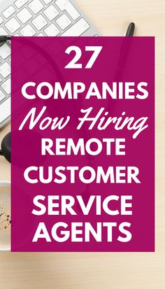 If you want to escape your cubicle, consider customer service jobs from home. There are lots of options to choose from, and some even let you set your own schedule! Best Home Business, Home Based Business, Business Tips, Online Business, Work From Home Companies, Work From Home Opportunities, Earn Money From Home, How To Make Money, Customer Service Jobs