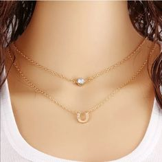 ❤️Horseshoe Layered Necklace❤️ New with tags! Save by bundling 2 or more items and get an extra 30% off! Jewelry Necklaces