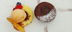 Schokoküchlein mit flüssigem Kern Panna Cotta, Pudding, Ethnic Recipes, Desserts, Food, Dessert Ideas, Food Food, Tailgate Desserts, Puddings