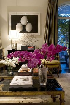 Great pink flower accent