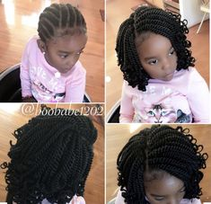 Crochet Braids For Little Kids Pictures braid pattern for crochets in 2020 kids braided hairstyles Crochet Braids For Little Kids. Here is Crochet Braids For Little Kids Pictures for you. Crochet Braids For Little Kids crochet braids for kids find y. Kids Crochet Hairstyles, Lil Girl Hairstyles, Kids Braided Hairstyles, Natural Hairstyles For Kids, My Hairstyle, Crochet Hair Styles, African Hairstyles, Ponytail Hairstyles, Natural Hair Styles