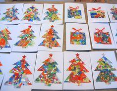 Kids Christmas Card Craft - northstory.ca