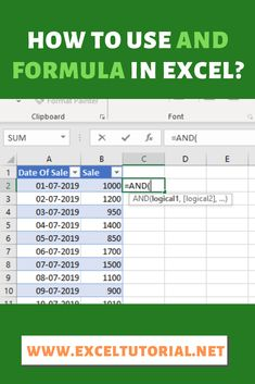 If you are wondering to ensure that some of your conditions are met then AND Formula will be really helpful for you in this situation. It will enforce and return to TRUE if all of your required conditions are met. Computer Basics, Computer Help, Computer Programming, Computer Tips, Microsoft Excel Formulas, Excel For Beginners, Excel Hacks, Powerpoint Tips, Good To Know