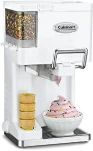 Lid is designed to remove and lock easily. An ingredient window allows you to pour ingredients directly through the top and watch the freezing process, Base – Contains heavy-duty motor strong enough to make and dispense ice cream. BPA Free Mixes and aerates ingredients in freezer bowl to create smooth soft ice cream, Dispensing Bracket with Handle – Dispenses the soft ice cream when handle is pulled down. Sorbet, Ice Cream Maker Machine, Soft Serve Machine, Yogurt Maker, Make Ice Cream, Small Kitchen Appliances, Buy Appliances, White Appliances, Sweet Home