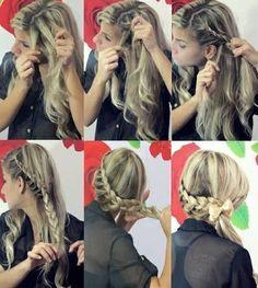 Braids hairstyles for long hair. Hair tutorial