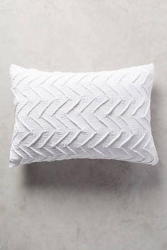 BEDROOM COMFORTER SET Textured Chevron Shams