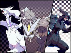 Legendaries Pokémon of B&W