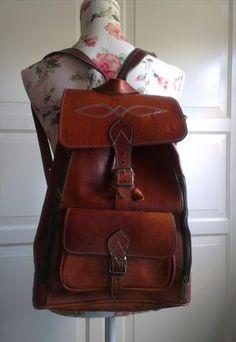 Vintage Leather Bag from FloralMannequin $53