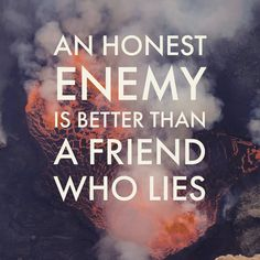 If a 'friend' lies to you - even if their justification for it (when they're found out and confronted) is that they didn't want to hurt your feelings - walk away from them. More so when it's a repeated act. Because chances are that they lied because they're cowards. You deserve better than that. When they lie they're disrespecting your friendship and betraying your trust. And you're worth more than that. It can be tough to let go (all those damned good memories) and it's sad... but you need…