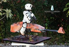 Pastel Stormtrooper Monica Cabrera Cakes www.monicacabreracakes.com Puebla, México