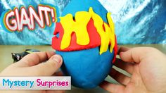Giant Hot Wheels Surprise Egg made of Play Doh, a very big surprise egg filled with Hot Wheels surprises including Hot Wheels cars. Lets see what we get inside #surpriseeggs #eggs #hotwheels #giantsurpriseegg #huge #giant #cool #cars