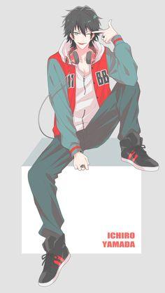 埋め込み Handsome Anime Guys, Hot Anime Guys, Cute Anime Boy, Anime Boys, Manga Art, Anime Manga, Anime Art, Happy Tree Friends, Anime Boy With Headphones