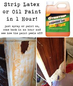 Ready Strip 1 Qt Safer Paint And Varnish Remover Environmentally Friendly Varnishes