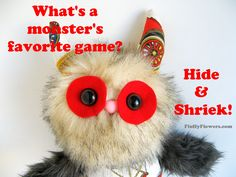 cute & clean game joke for children featuring an adorable Monster Doll :)