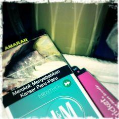 #bertemankan #rokok #LM #menthol & #secawan #radix #ais di #malam yang #tenang nan #indah ^_^
