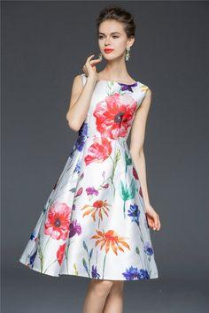 CW28334 Long European style dress spring long dress