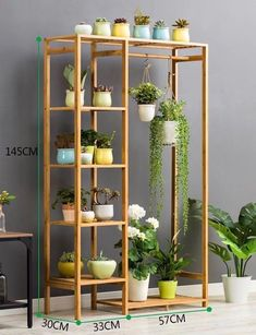 Carousell - Snap to List, Chat to Buy Wooden Plant Stands Indoor, Indoor Plant Shelves, Indoor Plants, Diy Crafts For Home Decor, Diy Wall Decor, Communion Centerpieces, Diy Furniture Easy, Diy Plant Stand, Wall Shelves Design