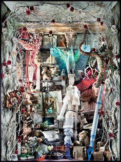 Compendium of Curiosities windows at http://blog.bergdorfgoodman.com/windows photography by: http://www.rickyzehavi.com