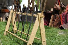 I really like this weapons rack. - Valkyrja
