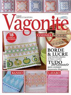 Artesanato - Bordados : COL ARTE E TALENTO VAGONITE 004 - Editora Minuano