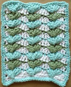 Dishcloth free pattern