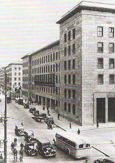 Berlin, Reichsluftfahrtsministerium, 1938.
