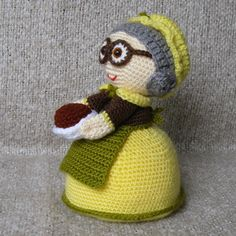 Grannie SALIHA  Amigurumi Crochet Pattern by StudioKarmaPattern