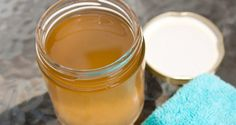Une lotion à base de vinaigre de cidre pour nettoyer votre visage