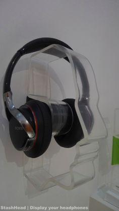 Stash Head, nice display for headphones.