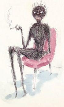 Tim Burton Conceptual Drawings