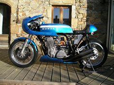 Vintage honda cb750 racer