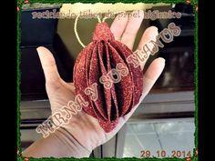 Como hacer adornos de Navidad RECICLADOS...... Recycled Ornaments
